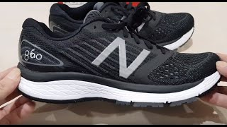 Unboxing NEW BALANCE 860 V9 M860BK9 WORLD BEST ROAD MARATHON RUNNING SHOES (100% ASLI & RESMI) NO KW
