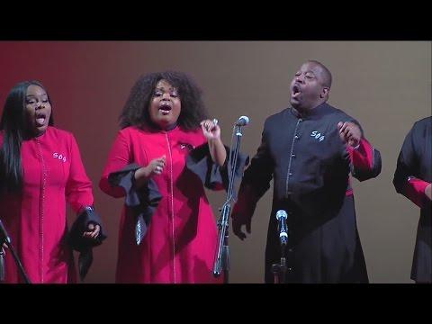 Detroit's Selected of God Choir sat Ben Carson campaign announcement