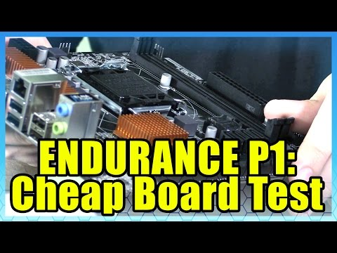 RX 480 Endurance Test On A Cheap Motherboard - Part 1