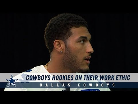 Dallas Cowboys Rookies On Their Work Ethic and Getting To The SuperBowl l| Dallas Cowboys 2019