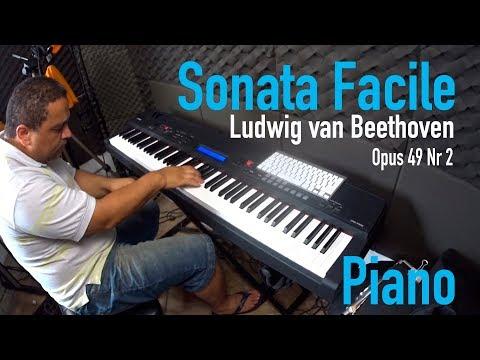 Tana Web  - Piano - Sonata Facile Opus 49 Nr 2 Ludvig van Beethoven