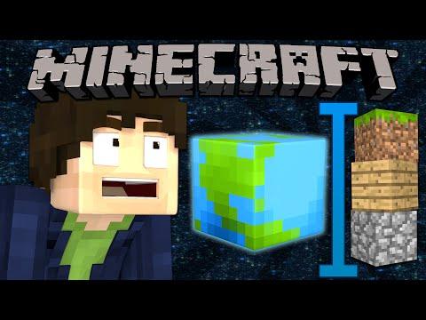 If The World was Three Blocks Tall - Minecraft