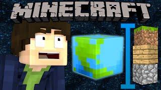 If The World was Three Blocks Tall - Minecraft thumbnail