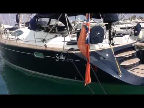 Jeanneau 54DS or sale with Network Yacht Brokers Swansea