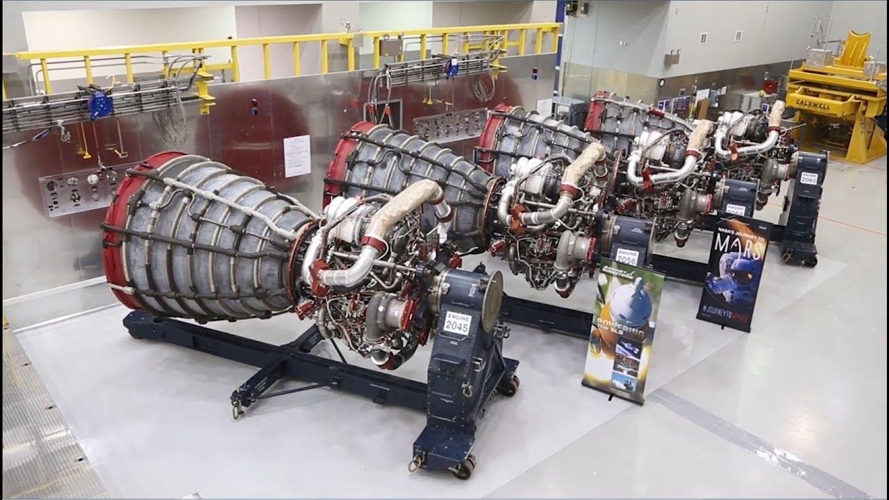 Rocket Engine Testing the NASA Way! - YouTube