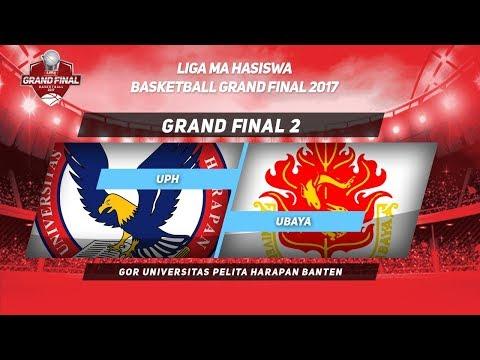 UPH VS UBAYA di (GAME 2) GRAND FINAL LIMA BASKETBALL 2017