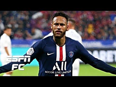 Neymar's improved attitude and goal-scoring ability on full display in PSG's win vs. Lyon | Ligue 1