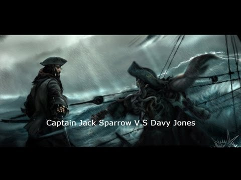 Captain Jack Sparrow Quotes Wallpaper Captain Jack Sparrow V S Davy Jones Youtube