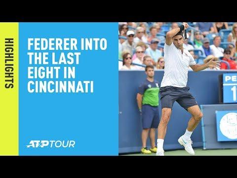 Highlights: Federer Fights Off Wawrinka's Best Hard-Court Effort Cincinnati 2018