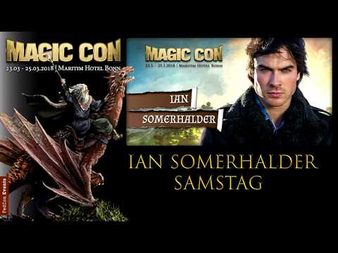 MagicCon 2018 Samstag Panel Ian Somerhalder