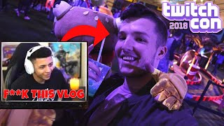 Gambar cover MYTH Reacts to My TwitchCon Vlog on Stream!