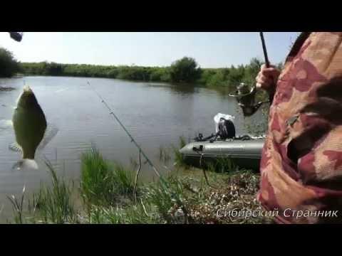 Рыбалка на щуку и карася на реке Каргат.