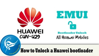 how to unlock bootloader huawei cun u29