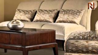 Meridian Armless Sofa S3026-33ps By Fairmont Designs