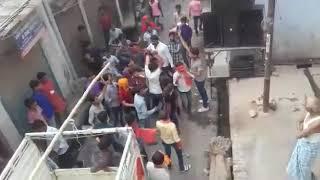 News bharti today /. Kanpur ,  मुहर्रम पर हिन्दू मुस्लिम समुदाय में झड़प