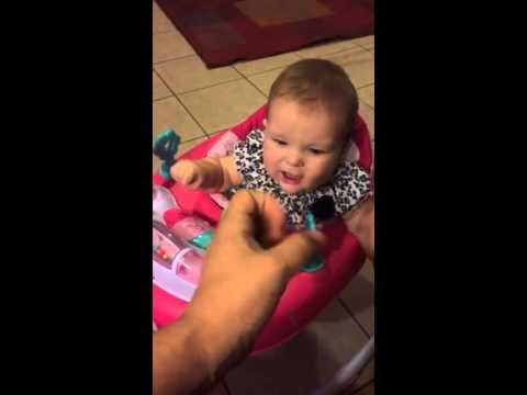900ce5196ee8 7 month old deaf baby signing voicing milk ASL - YouTube