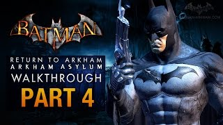 Batman: Return to Arkham Asylum Walkthrough - Part 4 - The Batcave