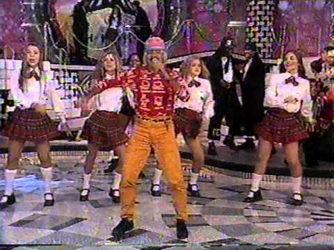 """Tiririca cantando """"Florentina"""" - Xuxa Hits 22/6/1996"""