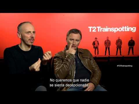 T2 TRAINSPOTTING - Entrevista Robert Carlyle y Ewen Bremner - CINEMANÍA