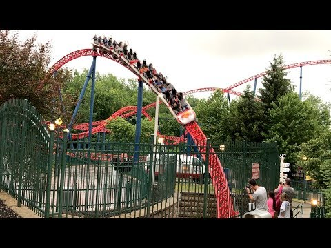 Superman: The Ride Review Six Flags New England Intamin Hyper Coaster