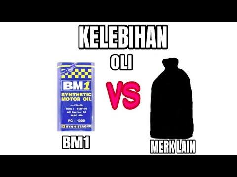 Kelebihan Oli BM1 dengan Merek Lain