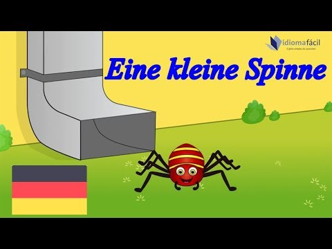 Die klitzekleine Spinne | Itsy Bitsy Spider German | Nursery Rhyme in German | Deutsch