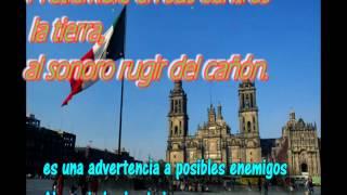 Significado himno nacional mexicano completo cantada voz  letra lyrics HD