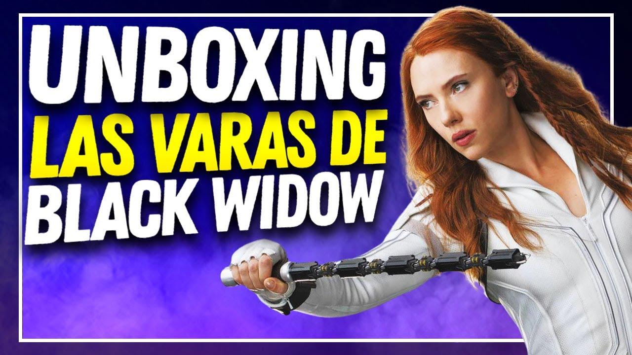 Unboxing: Las VARAS de BLACK WIDOW by @Espadasymas