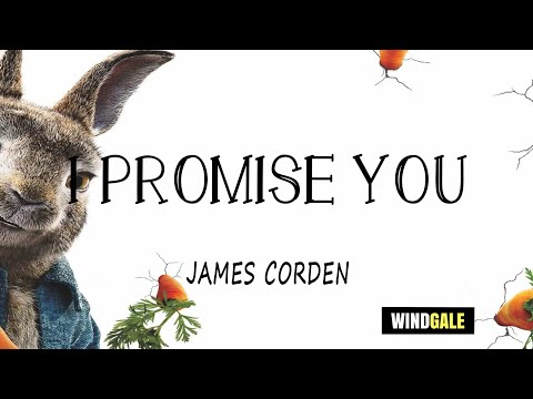 James Corden I Promise You Lyric