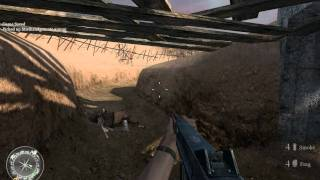 """Call of Duty 2"", walkthrough on Veteran, Ch.4-The Battle of El Alamein,part 3-Operation Supercharge"