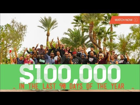 How To Make $100,000 In The Last 90 Days of the YEAR