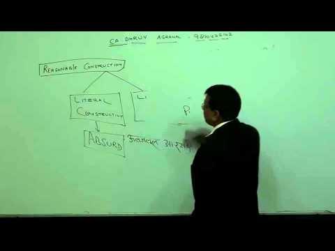Lecture #21 interpretation of statutes  mp4