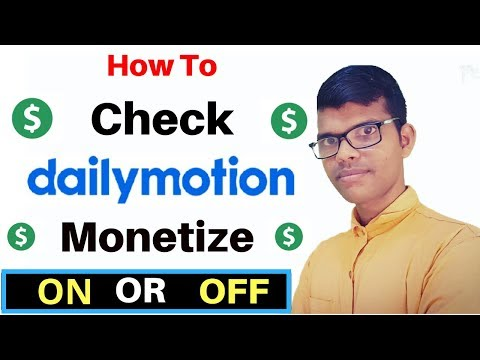 dailymotion video ads not showing | monetization enable kaise kare 2019