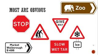 Driving Theory Test  Revision:  Top 20 UK Road Signs and Their Meanings