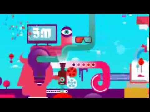 Creative England second anniversary animation