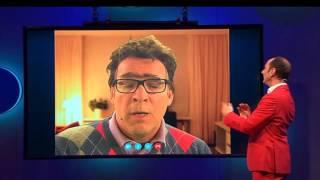 Skype verbinding met Willem van Hanegem uit aflevering 5