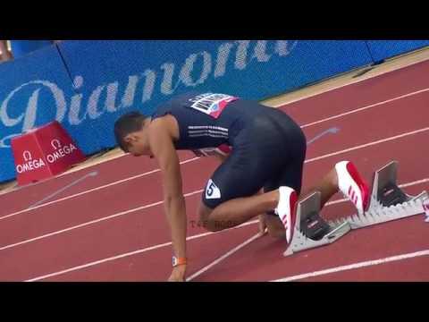 Van Niekerk vs Makwala 400m Monaco Diamond League 2017