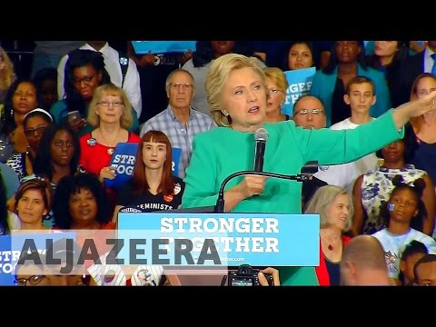 US election 2016: Hillary Clinton continues campaigning in Florida