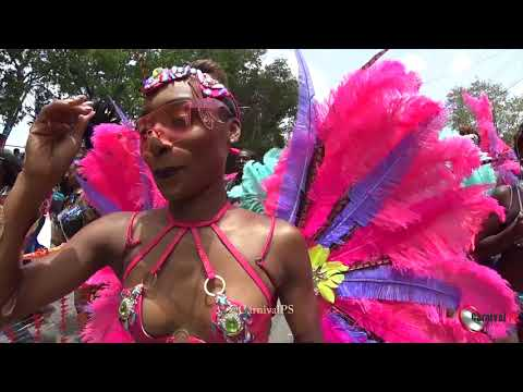 Barbados Crop Over 2018 Part 1 [ Zulu International 2018 ] 👍 & share [miami notting hill carnival]