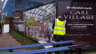 Printed Hoarding Boards - Printed & Installed by CSDprint