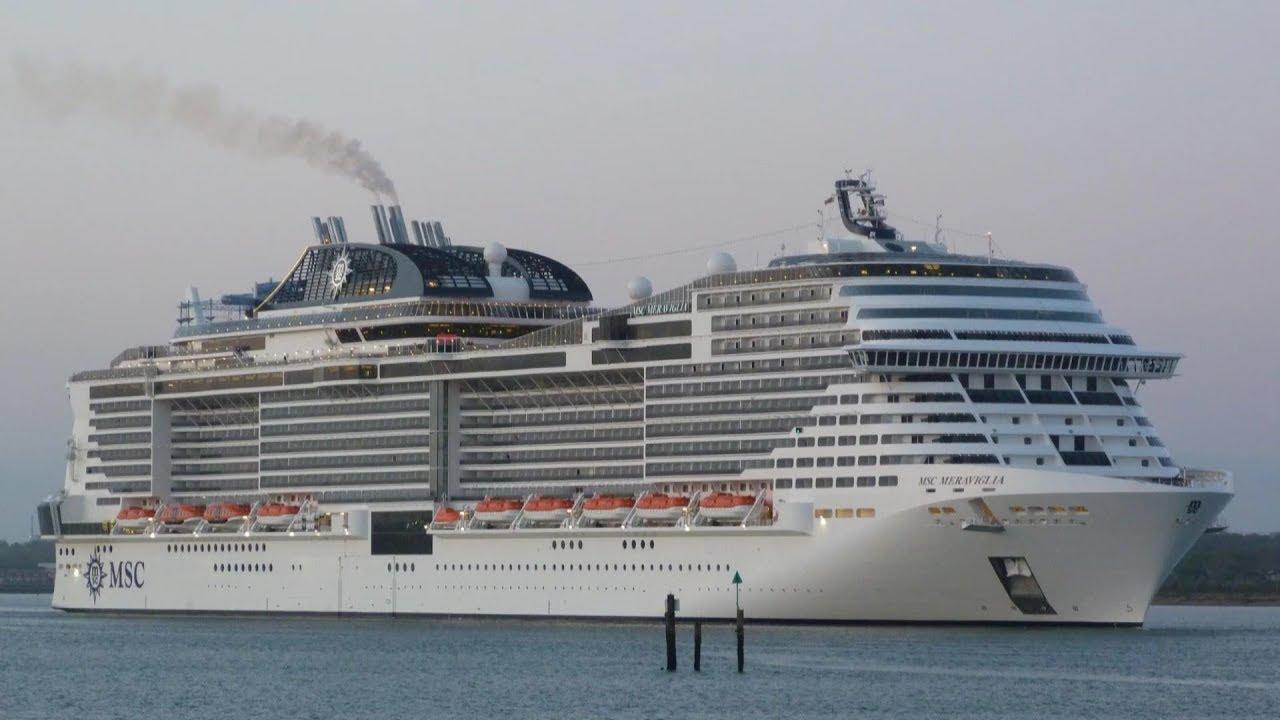 Αποτέλεσμα εικόνας για MSC Meraviglia Makes Maiden Call at German Port