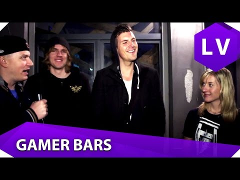Streetfighter, Jenga und Monkey Island Cocktails - Gamer Bars in Berlin