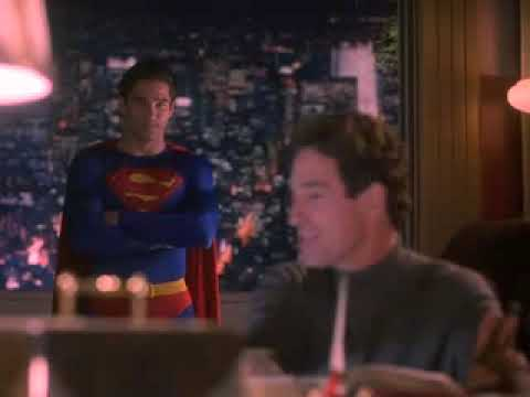 "John Shea - Lex Luthor, Dean Cain - Superman  from ""Lois & Clark The New Adventures of Superman"""