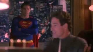 """John Shea - Lex Luthor, Dean Cain - Superman  from """"Lois & Clark The New Adventures of Superman"""""""