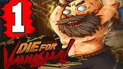 Die For Valhalla Gameplay Walkthrough Part 1 (FULL GAME) Lets Play Playthrough PS4 XBOX 1 PC