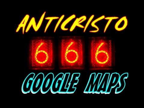 Digite ANTICRISTO no Google Maps e Verá algo MACABRO