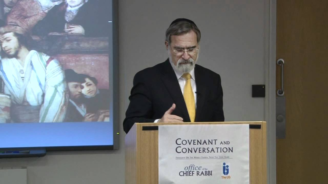 Mattot 5771 - Covenant & Conversation - Chief Rabbi Lord Sacks speaks on the weekly Torah portion
