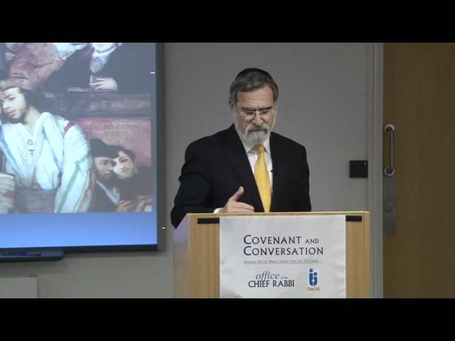 Mattot 5771 - Covenant & Conversation - Chief Rabbi Lord Sacks speaks on the weekly Torah portion