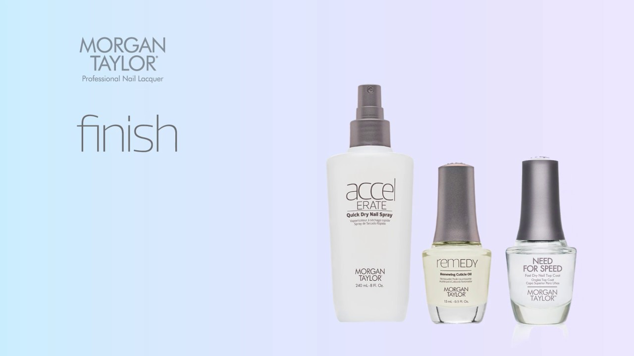 MORGAN TAYLOR - ESSENTIAL NAIL CARE SYSTEM - YouTube