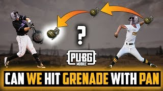 Can We Hit Grenade With Pan ? Pubg Mobile tips and Tricks
